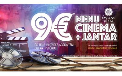 Menu Cinema + Jantar = 9€