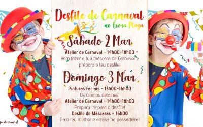 Carnaval é no Évora Plaza 2 e 3 de Março