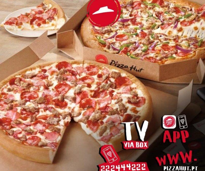 Pizza Hut – Entregas ao Domicílio!
